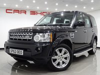 2012 LAND ROVER DISCOVERY 4 3.0 SDV6 (255bhp) GS AUTO..7 SEATS £10990.00