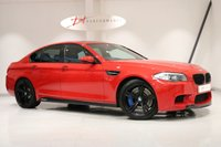 USED 2012 62 BMW M5 4.4 M5 M PERFORMANCE EDITION 4d AUTO 553 BHP 1/10 RED PERFORMANCE EDITIONS