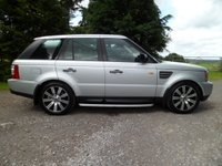 USED 2007 57 LAND ROVER RANGE ROVER SPORT 3.6 TDV8 SPORT HSE 5d AUTO 269 BHP FANTASTIC CONDITION. EXCELLENT SERVICE HISTORY. SAT NAV. FRIDGE. BLUETOOTH. JUST SERVICED. MOT JULY 2020