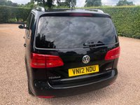 USED 2012 12 VOLKSWAGEN TOURAN 2.0 SE TDI 5d 142 BHP 1 OWNER FROM NEW. Cambelt and water pump and air con service on the 09/04/19. 54833 miles