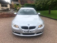 USED 2008 58 BMW 3 SERIES 2.0 320I SE 2d 168 BHP 1 private Owner from new ...Lovely condition inside and out..... Low mileage for the year.