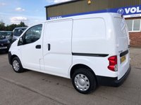 USED 2013 63 NISSAN NV200 1.5 DCI ACENTA 90 BHP LOW MILEAGE! AIR CON