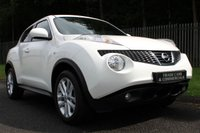 USED 2012 62 NISSAN JUKE 1.6 TEKNA 5d 117 BHP A ONE OWNER, LOW MILEAGE CAR WITH NISSAN SERVICE HISTORY!!!