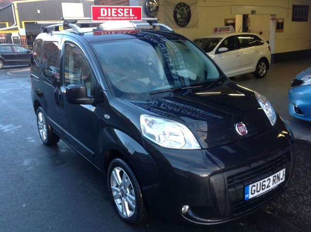 2012 62 FIAT QUBO 1.2 MULTIJET MYLIFE AUTOMATIC