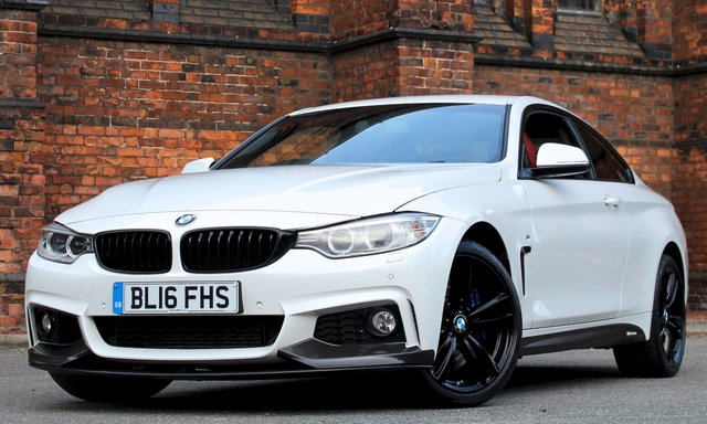 2016 16 BMW 4 SERIES 3.0 435D XDRIVE M SPORT 2d AUTO 309 BHP [ M PERFORMANCE ]