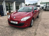 USED 2012 12 RENAULT MEGANE 1.5 EXPRESSION DCI ECO 5d 110 BHP FULL SERVICE HISTORY-£20 TAX-1 FORMER KEEPER-DIESEL-5 DOOR