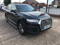 USED 2016 66 AUDI Q7 3.0 TDI QUATTRO S LINE 5d AUTO 269 BHP SERVICE HISTORY-AUTOMATIC-NAV-BLUETOOTH-HEATED LEATHER SEATS