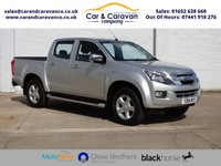 USED 2014 14 ISUZU D-MAX 2.5 TD YUKON DCB 1d 164 BHP Full ISUZU History Bluetooth Buy Now, Pay Later Finance!