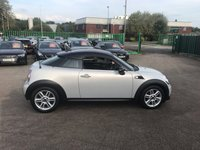 USED 2012 62 MINI COUPE 1.6 COOPER 2d AUTO 120 BHP