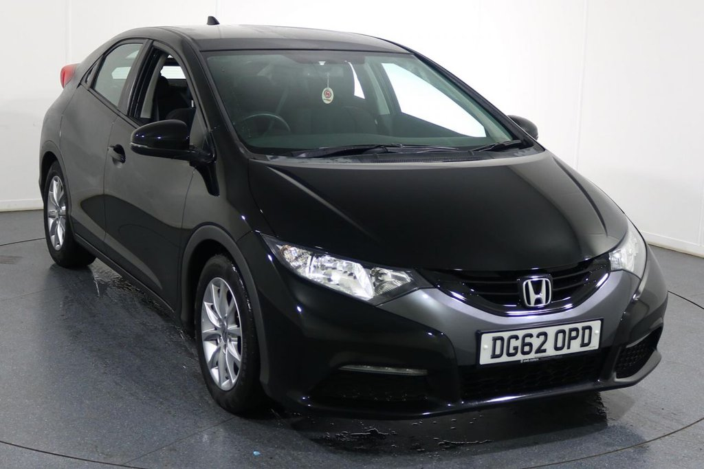 USED 2012 62 HONDA CIVIC 1.8 I-VTEC SE 5d 140 BHP ONE OWNER with 7 Stamp SERVICE HISTORY