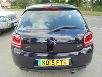 USED 2015 15 DS DS 3 1.2 PURETECH 1955 S/S 3d 109 BHP