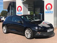 USED 2013 13 VOLKSWAGEN SCIROCCO 2.0 GT TDI BLUEMOTION TECHNOLOGY 2d 140 BHP SAT NAV | LEATHER | ALLOYS |