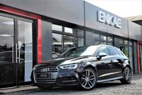 USED 2016 16 AUDI S3 2.0 S3 SPORTBACK QUATTRO 5d AUTO 310 BHP FACELIFT *MATRIX LIGHTS*D&M SUBWOOFER SOUND SYSTEM*ONE OWNER FROM NEW*APPLE CAR PLAY*PRIVACY GLASS*310 BHP*PANTHER BLACK CRYSTAL EFFECT*AUDI SYSTEM FRONT AND REAR PARKING SYSTEM PLUS*CRUISE CONTROL*FLAT BOTTOM STEERING*MULTI FUNCTIONAL STEERING*PHONE PREP*DAB RADIO*SAT NAV*FOLDING MIRRORS*HEATED SEATS* FULL AUDI SERVICE HISTORY*HILL HOLD ASSIST* STOP START*DRIVE SELECT OPTIONS: DYNAMIC,ENGINE GEAR BOX,STEERING,QUATTRO ENGINE SOUND MANUFACTURERS WARRANTY TILL 31/8/19