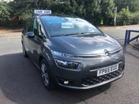 USED 2015 65 CITROEN C4 GRAND PICASSO 1.6 BLUEHDI SELECTION 5d 118 BHP Buy with confidence from a garage that has been established  for 26 years.