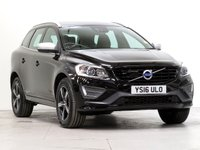 USED 2016 16 VOLVO XC60 2.0 D4 R-DESIGN LUX NAV 5d 188 BHP [£3,300 OF OPTIONS] ADAPTCRUISE PARK-ASSIST CAMERA....