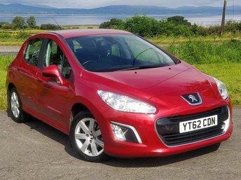 2012 PEUGEOT 308 1.6 HDI ACTIVE 5d 92 BHP £3945.00