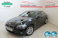 USED 2012 12 BMW 5 SERIES 2.0 520D EFFICIENTDYNAMICS 4d 181 BHP 2 Keys, Nav, BT, Heated Seats