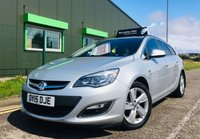 USED 2015 15 VAUXHALL ASTRA 1.6 SRI ESTATE with full service history