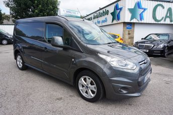 2016 FORD TRANSIT CONNECT 1.5 TDCI 120 L2 240 LIMITED LONG 5DR ( EURO 6 & NO VAT !! ) £10989.00