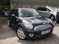 2008 MINI HATCH COOPER 1.6 COOPER 3d 118 BHP £1500.00