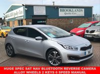 2016 KIA CEED 1.6 CRDI 4 ISG 5 Door Silver with Black Leather 43307 miles £20 RFL 134 BHP  £9995.00