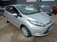 USED 2012 62 FORD FIESTA 1.2 EDGE 3d 81 BHP