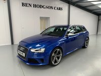 USED 2014 64 AUDI A4 4.2 RS4 AVANT FSI QUATTRO 5d AUTO 444 BHP 1 Previous owner! Only 45 k miles!