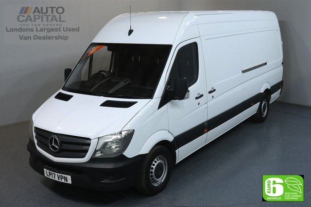 2017 17 MERCEDES-BENZ SPRINTER 2.1 314CDI 140 BHP LWB EURO 6 ENGINE ONE OWNER, SIDE AND REAR DEADLOCKS FITTED