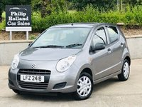 USED 2012 SUZUKI ALTO 1.0 SZ 5d 68 BHP Fully serviced & M.O.T'D, Power steering, Central locking