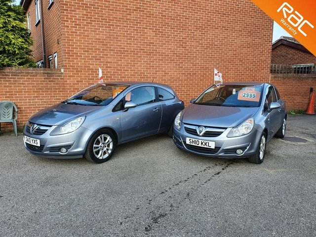 2010 10 VAUXHALL CORSA 1.2 SXI 3d 83 BHP  ** CHOICE OF 2 **