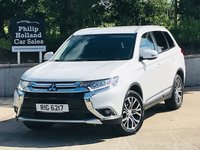 USED 2016 MITSUBISHI OUTLANDER 2.3 DI-D GX 3 5d AUTO 147 BHP 7 SEATS 4x4 Full leather, Cruise control, Rear parking sensors, Keyless