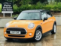 USED 2017 17 MINI HATCH COOPER 1.5 COOPER D 5d 114 BHP Sat Nav, Rear privacy glass, Mini excitement pack