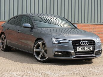 2015 AUDI A5 2.0 SPORTBACK TDI QUATTRO BLACK ED S/S 5d 175 BHP £14995.00