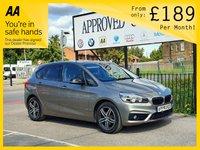 2015 BMW 2 SERIES 2.0 218D SPORT ACTIVE TOURER 5d 148 BHP £10995.00