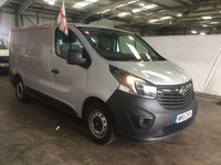 USED 2015 15 VAUXHALL VIVARO 1.6 2700 L1H1 CDTI P/V ECOFLEX 1d 89 BHP ***Nationwide Delivery Available***