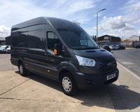 2018 FORD TRANSIT 2.0 350 JUMBO VAN L4 H3 DRW 130 BHP air con bluetooth and more £16495.00