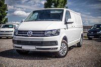 USED 2019 68 VOLKSWAGEN TRANSPORTER T30 TDI LWB HIGHLINE DSG (AUTO) GEARBOX 150 BLUEMOTION EURO 6 Sat Nav, Electric Folding Mirrors, Captain Seats, Power Latch to the Side door, Cab Carpet, Heated Rear Window & Wash Wipe