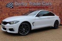 2017 BMW 4 SERIES 2.0 420D M SPORT 2d AUTO 188 BHP £21990.00