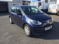 USED 2014 64 VOLKSWAGEN UP 1.0 MOVE UP BLUEMOTION TECHNOLOGY 5d 59 BHP