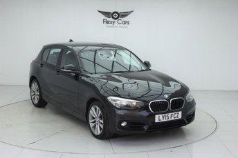 2015 BMW 1 SERIES 2.0 118D SPORT 5d AUTO 147 BHP £SOLD