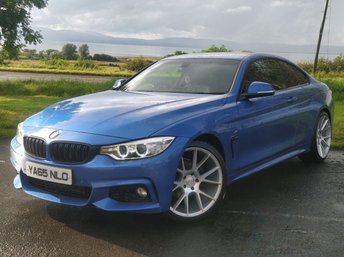 2015 BMW 4 SERIES 2.0 420D M SPORT 2d AUTO 188 BHP £15945.00