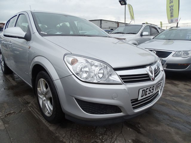 USED 2009 59 VAUXHALL ASTRA 1.4 CLUB A/C GOOD SERVICE DRIVES A1