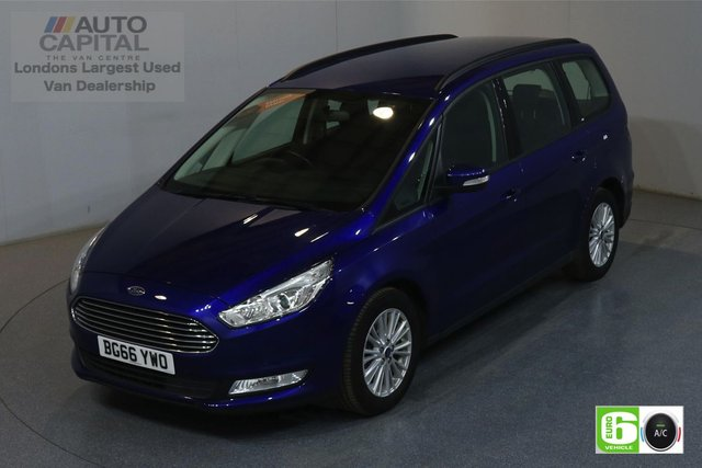 2016 66 FORD GALAXY 2.0 ZETEC TDCI 148 BHP AUTO EURO 6 ENGINE AUTO, AIR CON, SAT NAV, KEYLESS, 7 SEATS