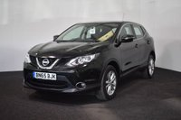 USED 2015 65 NISSAN QASHQAI 1.5 DCI ACENTA 5d 108 BHP £0 TAX + LOW MILES + BLUETOOTH + SMART VISION PACK