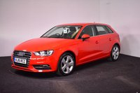 USED 2015 15 AUDI A3 1.4 TFSI SPORT 5d 124 BHP GREAT VALUE + BLUETOOTH + DAB