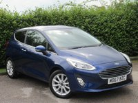 USED 2018 67 FORD FIESTA 1.0 TITANIUM 3d  * LANE KEEPING SYSTEM *