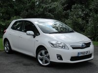 USED 2010 60 TOYOTA AURIS 1.8 T SPIRIT 5d AUTO  FREE ROAD TAX AND LOW RUNNING COSTS