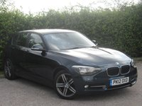 USED 2012 12 BMW 1 SERIES 2.0 116D SPORT 5d 114 BHP * 12 MONTHS FREE AA MEMBERSHIP * 128 POINT AA INSPECTED *