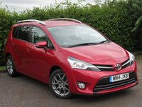USED 2014 14 TOYOTA VERSO 1.6 D-4D EXCEL 5d  * LOW MILEAGE FAMILY CAR * SATELLITE NAVIGATION *