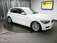 USED 2014 14 BMW 1 SERIES 1.6 116D EFFICIENTDYNAMICS BUSINESS 5d 114 BHP £0 DEPOSIT AVAILABLE, AUX INPUT, AIR CONDITIONING, BLUETOOTH CONNECTIVITY, CLIMATE CONTROL, COLOUR DISPLAY SCREEN, DAB RADIO, DRIVE PERFORMANCE CONTROLS, PROFESSIONAL SAT-NAV, TRIP COMPUTER